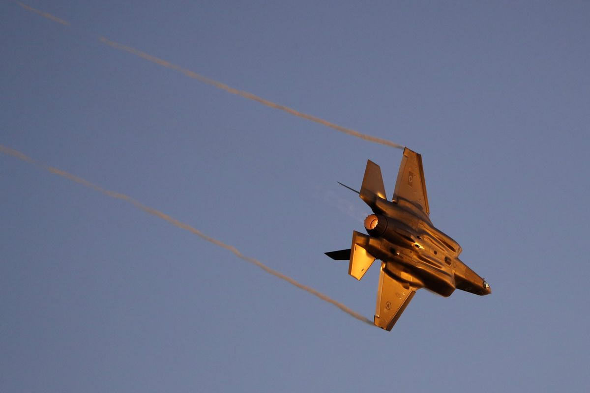 Israeli Fighter Jets Target Iranian Quds Sites in Syria
