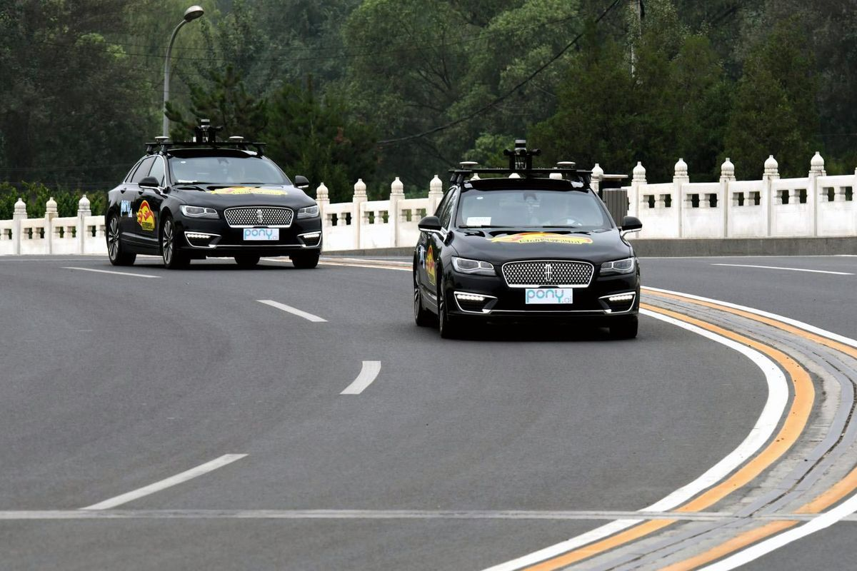 Chinese Startups Floor the Pedal in a Driverless Car Race