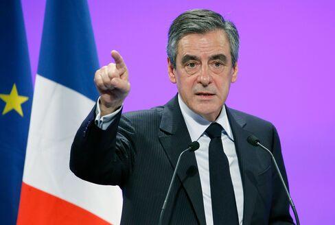 Francois Fillon on April 5.