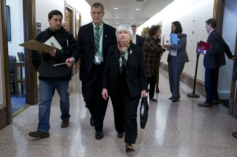 Republicans Opposed to Yellen Flee Paul in Search of Rules
