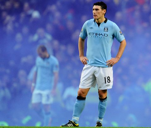 Manchester City's Barry Suspended for Verbal Abuse of Official