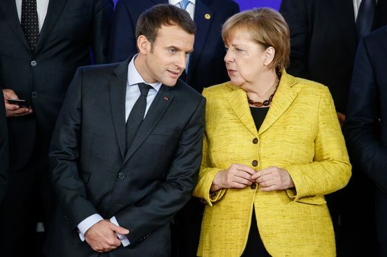 Merkel Seeks Macron's Help as Asylum Crisis Threatens EU Unity