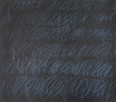 """Twombly's """"Untitled (New York City)"""""""