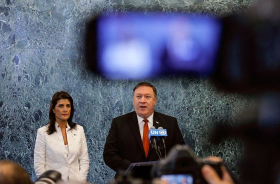 Pompeo Seeks to Shore Up UN Support for North Korean Sanctions