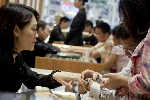 Luxury Watch Sales Show China Failing to Secure Economic Rebound
