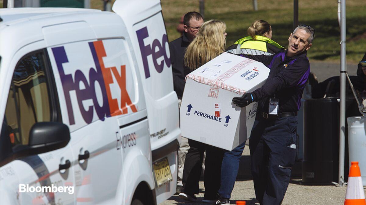 FedEx Tischkalender 2020