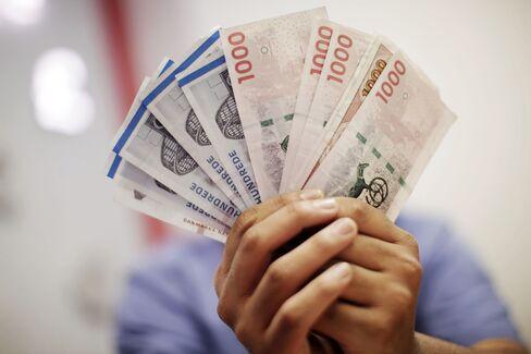 Euro-Breakup Scenario Drives Danish Krone Appeal in Binary Bet