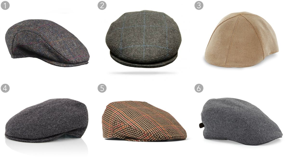 22aed610578 relates to 24 Winter Hats to Top Off the Season. (1) Harris tweed ivy cap  ...