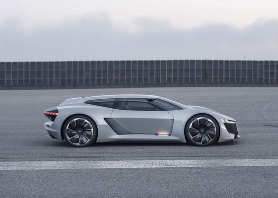 Audi Unveils Electric PB18 e-tron Supercar During Monterey Car Week