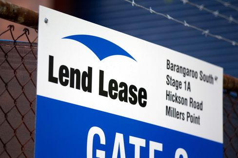 Lend Lease Gets Funds for First Towers at Sydney Project