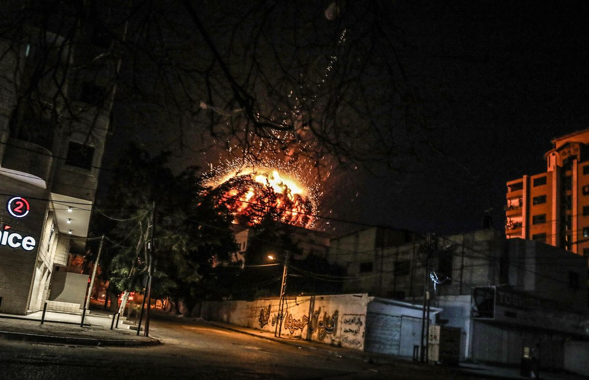 Turkey Slams Israel Over Attack on News Agency Office in Gaza