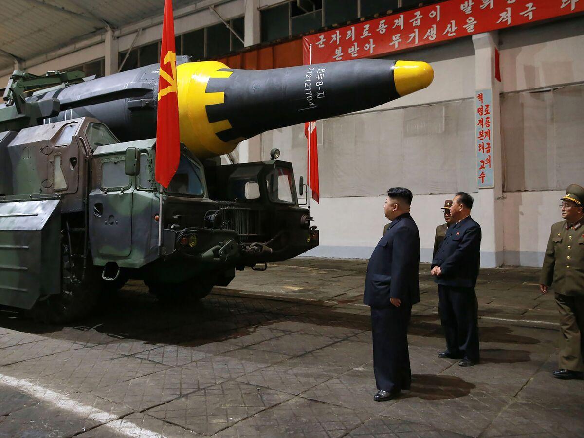 Hasil gambar untuk Pentagon Says North Korea's Regime Has Staked Its Survival on Nuclear Weapons