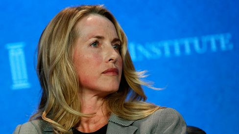 Laurene Powell Jobs is pictured at the annual Milken Institute Global Conference in Beverly Hills, Calif., on April 29, 2013.