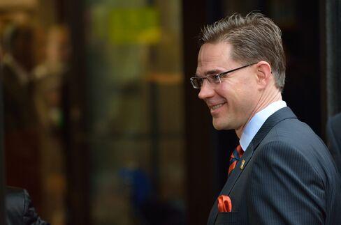 Finnish Prime Minister Jyrki Katainen