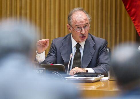 Former chairman of Bankia SA Rodrigo Rato
