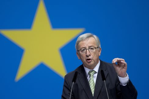 Former Prime Minister of Luxembourg Jean-Claude Juncker