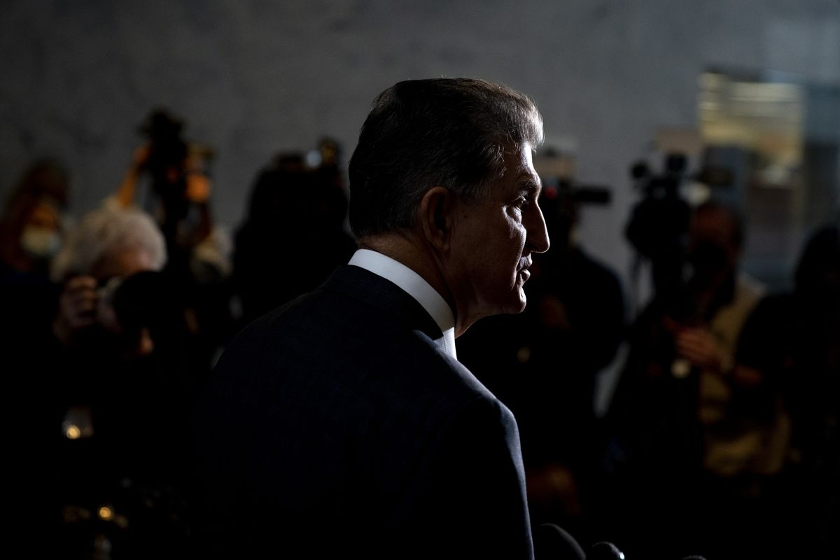 Manchin Rakes In Cash From Energy Industry, Some GOP Donors