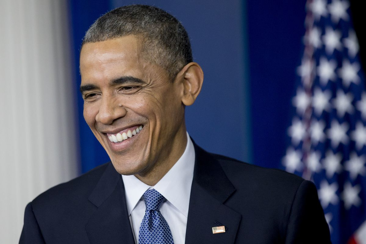 Why Obama Is Smiling Again