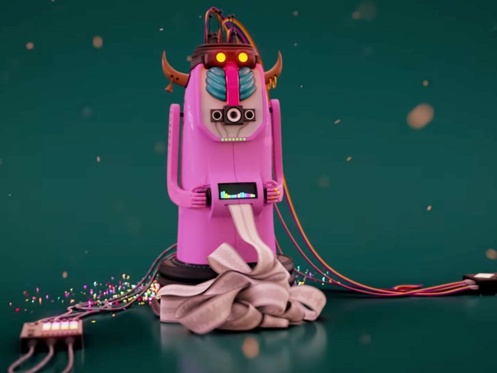 Robot Sings Eurovision Kitsch Composed by Oracle AI, Israelis