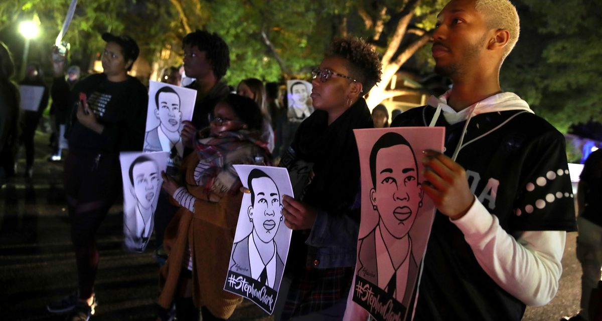 The Latest: California Won't Charge Police in Clark Killing