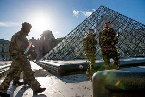 Tourism Down In French Capital