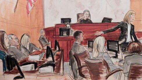Asaro in Court