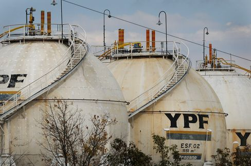 YPF Bondholders Lose Faith in Takeover Clause: Argentina Credit