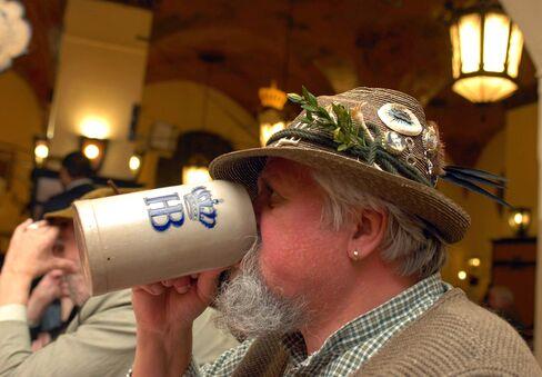 Beer Drinking in Munich