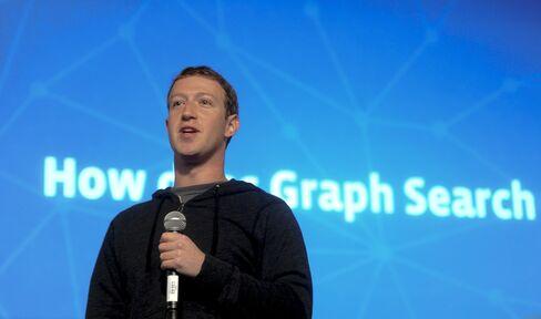 CEO of of Facebook Inc. Mark Zuckerberg