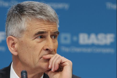 BASF SE Chief Executive Officer Juergen Hambrecht