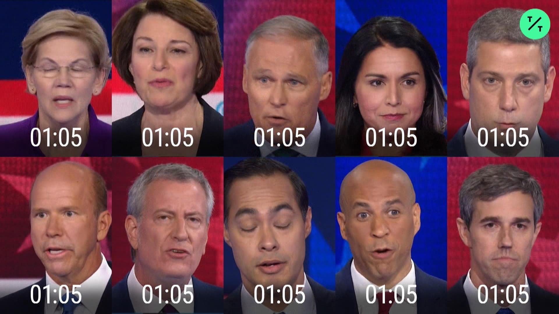 Democrats Speaking Time