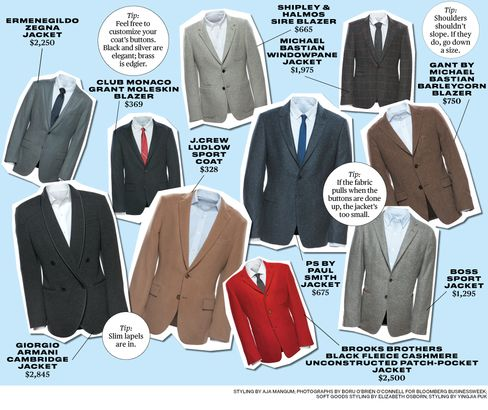 Cool Sport Coats in a Variety of Colors and Patterns