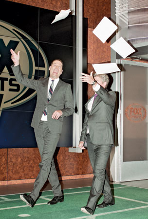 Onrait and O'Toole, the network's late-night stars