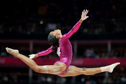 Douglas Wins Gymnastics Final Getting Second Gold of Olympics