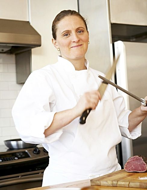 Chef April Bloomfield. Photographer: Melanie Dunea/Becca PR via Bloomberg