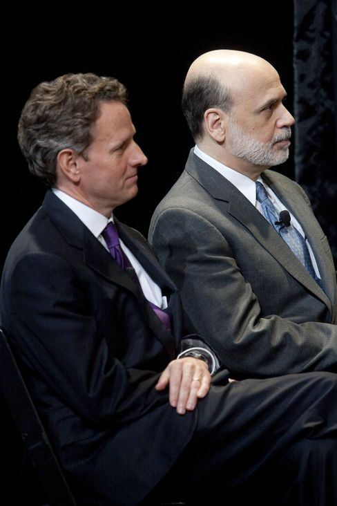 Fed. Chairman Bernanke and Treasury Secretary Geithner