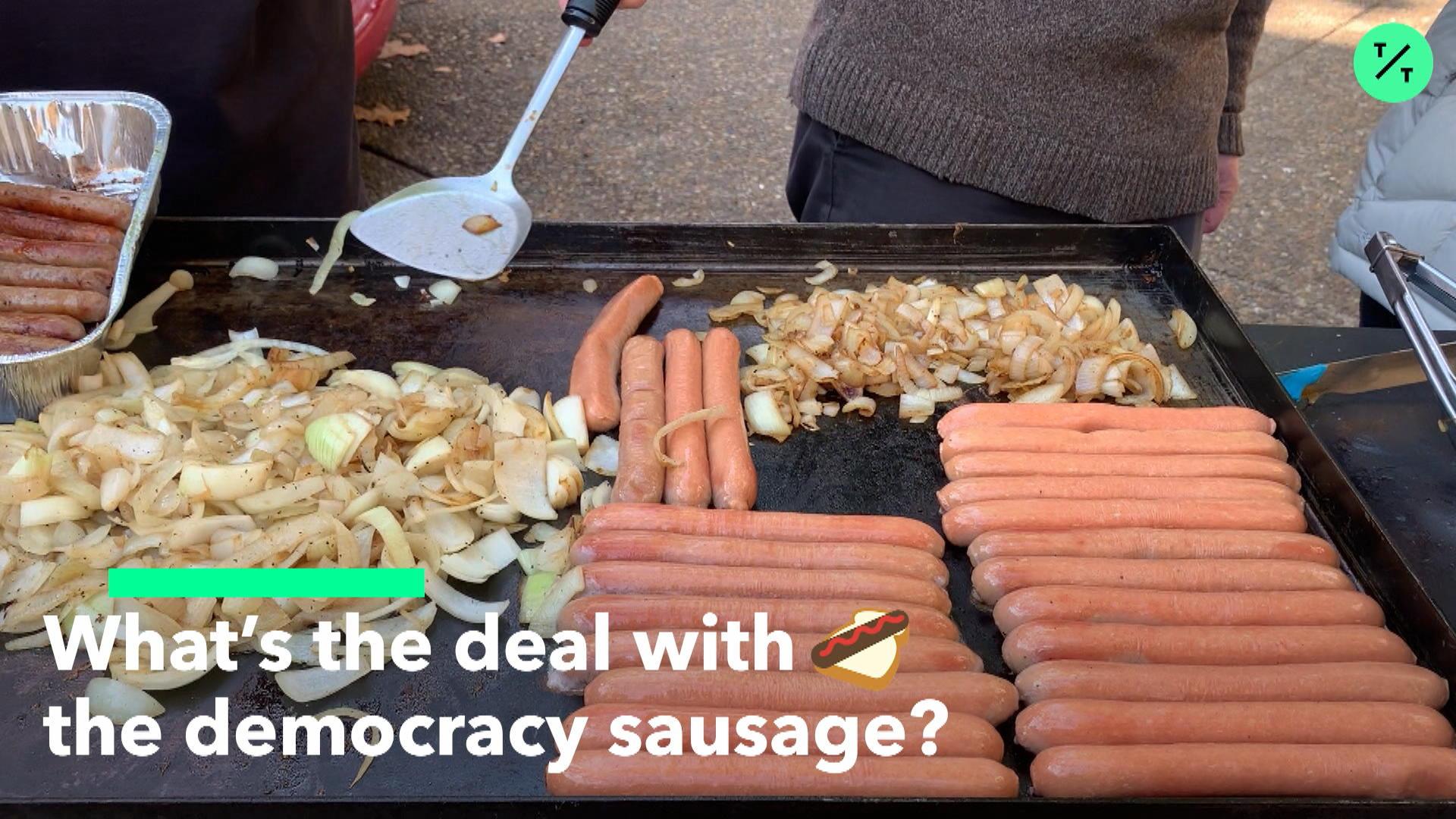 Democracy Sausage explained