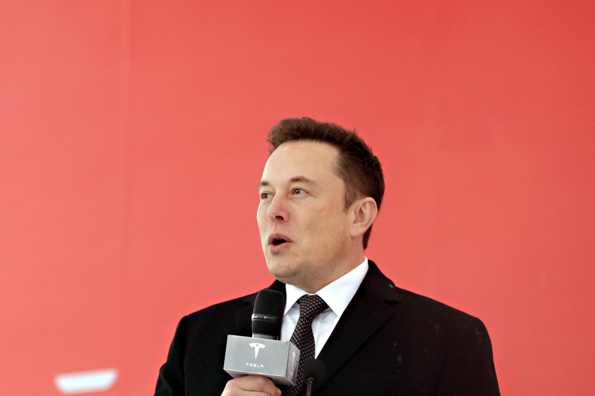 Musk Breaks Ground on Tesla China Plant, First Outside U S