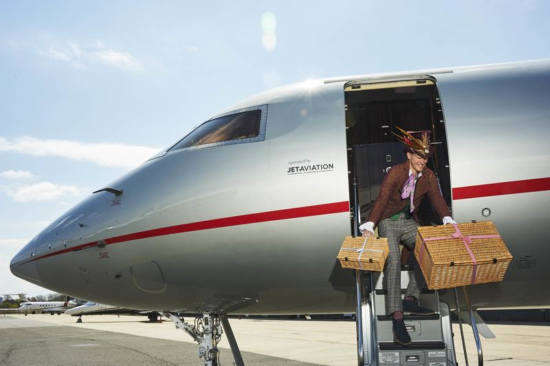 the latest private jet amenity is a theme party for your children