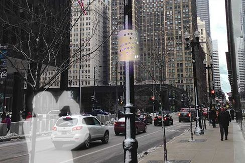 Chicago's New High-Tech Lamp Posts Will Track Everything, Always