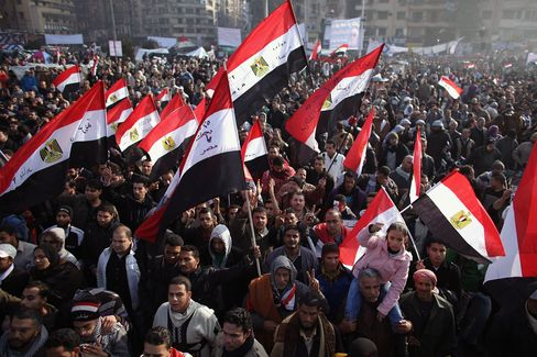 Egypt Marks Anniversary of Uprising Amid Warnings, Promises