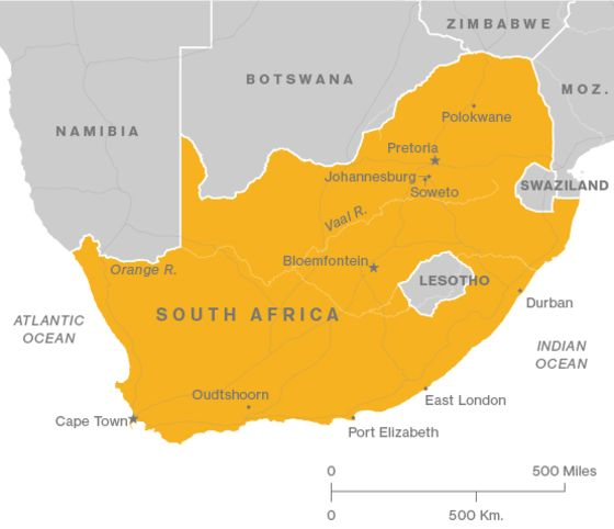 South Africa's Hopes