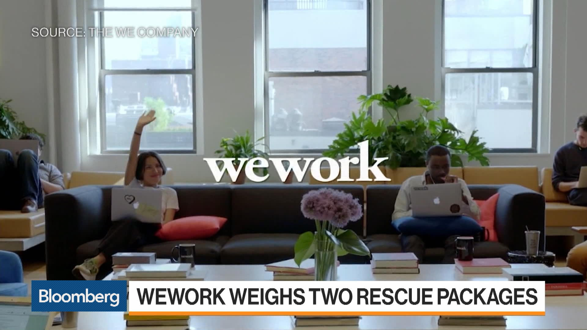 SoftBank Plans $5 Billion Rescue of WeWork