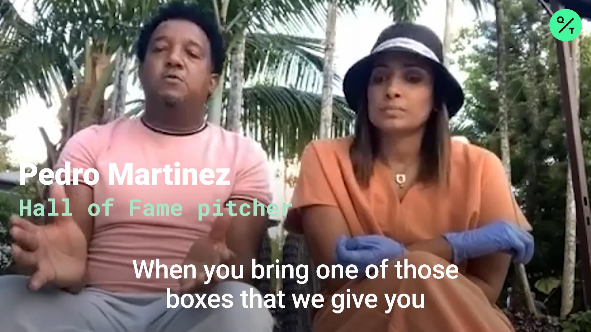 Pedro Martinez Organizing Virus Relief