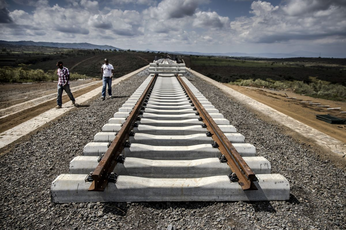 The Railroad to Nowhere China Built Has Opened in Kenya