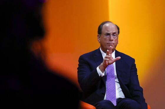 BlackRock CEO Larry Fink Sees Potential for 'Big Shock' From Inflation