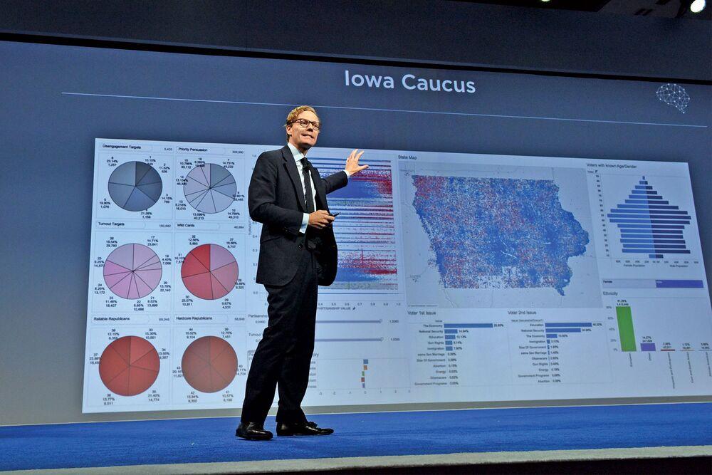 Trump Data Gurus Leave Long Trail of Subterfuge, Dubious Dealing