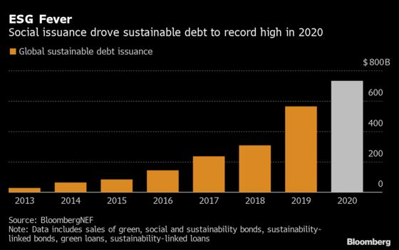 Social Bonds Propel ESG Issuance to Record $732 Billion in 2020
