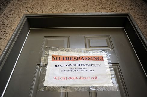 A foreclosure notice