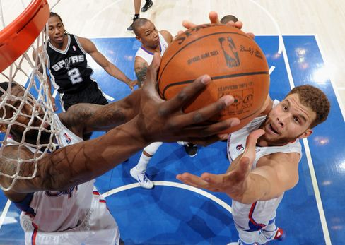 Blake Griffin #32 of the Los Angeles Clippers